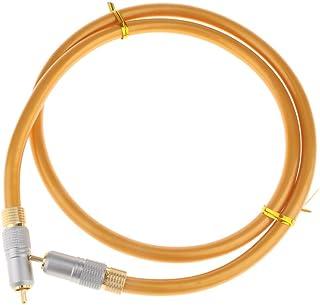 Homyl Digitel Audio Video Coaxial RCA Macho para Macho Conector de Cabo Adaptador de Cabo - 1 m