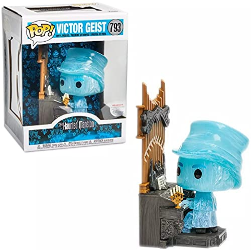 Disney Funko Pop Victor Geist Organista de mansión embrujada #793