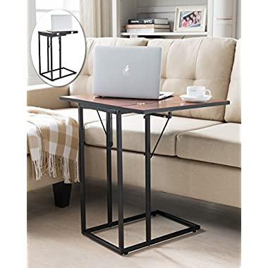 Kings Brand Furniture Expandable Magazine Snack Side Sofa Table