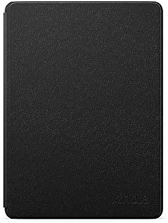 Kindle Paperwhite Leather Cover - Black (11th Generation-2021)