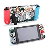 My hero academia Anime Protector Case for Nintendo Switch,My hero academia Print Case Apply to Nintendo Switch 5-pc Switch Game Console PC Cover