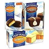 Tastykake Variety Pack, 36 Tastykakes - Butterscotch Krimpets, Peanut Butter...
