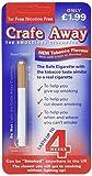 Crafe Away imitation cigarette tobacco flavoured (4 pack)
