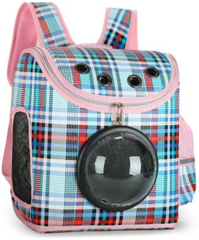 Cat Backpack Pet Dog Backpack Multifunction Folding Breathable Portable Travel Shoulder Bag Tote Bag color PC Oxford Cloth 31  19  37Cm