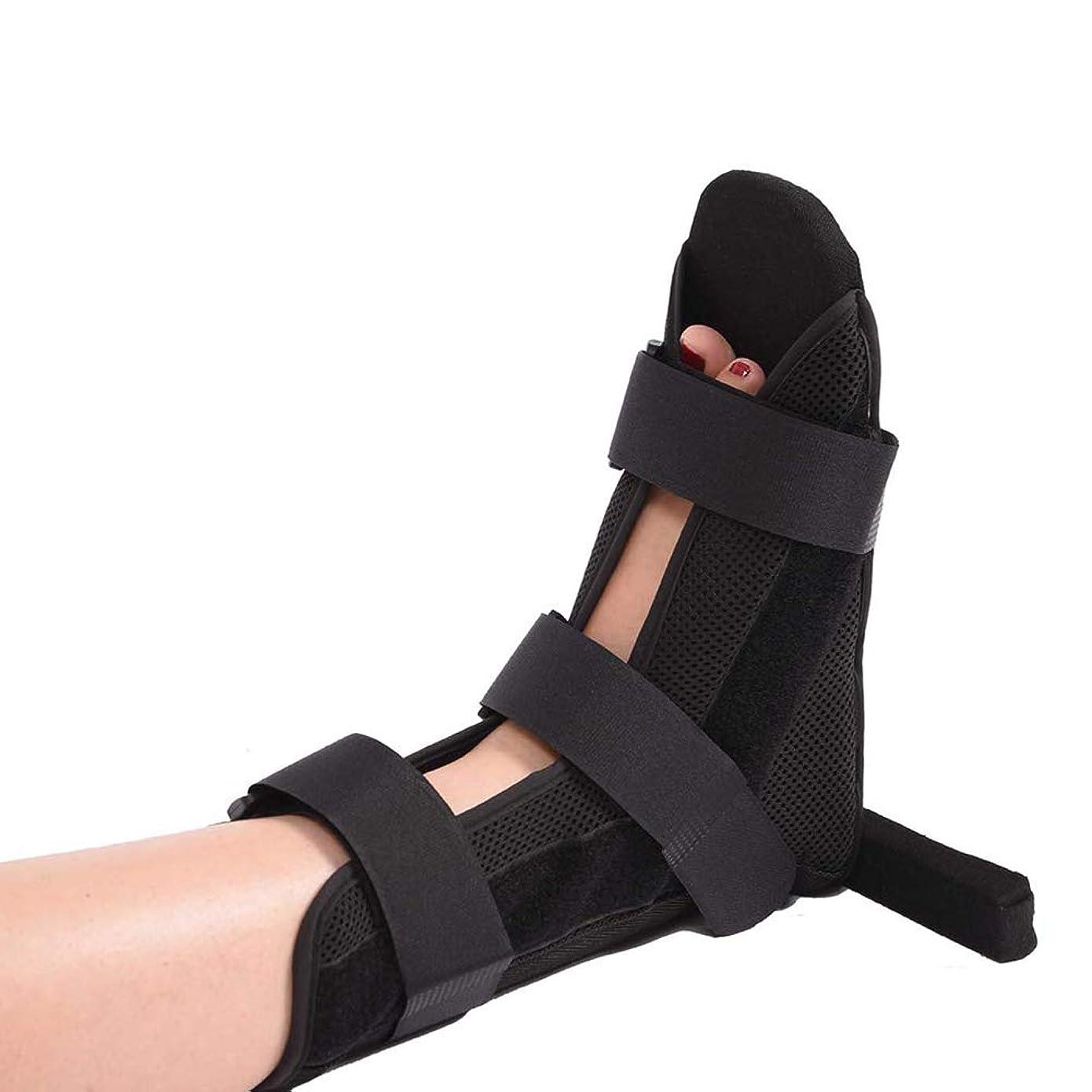 用心するヒット一口足首ブレースウォーキングブーツ-骨折した足首整形ソフトウォーカー-足の捻rain負傷