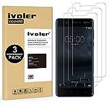 ivoler [Pack de 3] Verre Trempé pour Nokia 5 2017, Film Protection en Verre trempé écran...