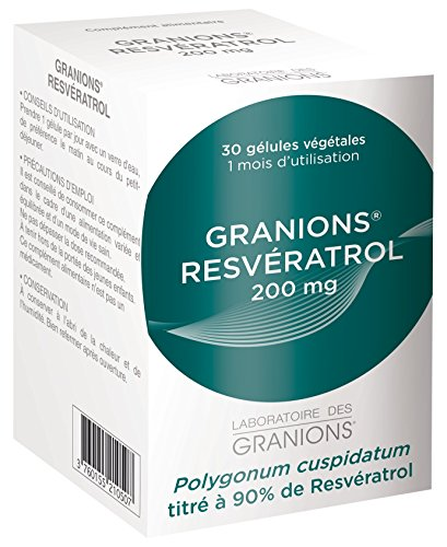 Granions Resveratrol 90% Titrated, 40 g