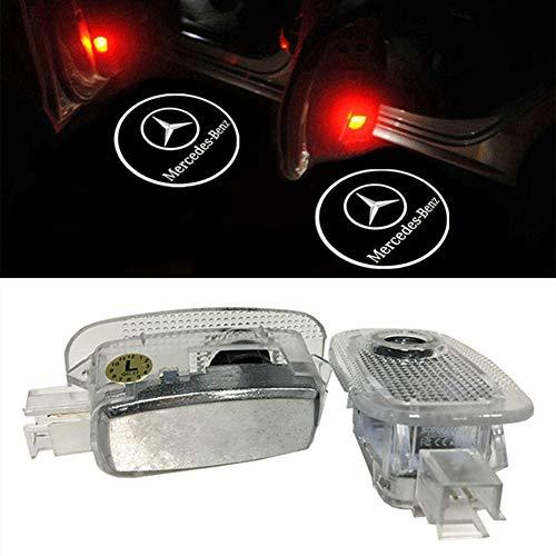 Preisvergleich Produktbild LIKECAR 2pcs einstiegsbeleuchtung auto projektor LED Willkommen Logo Tür schießen Licht