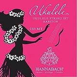 Hannabach 660645 Cordes pour Ukulélé