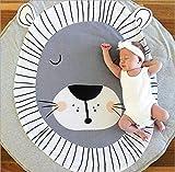 Queta Krabbeldecke Kuscheldecke aus Baumwolle Weiche Schlafteppich Cartoon Baby Spielmatte Spieldecke 90cm