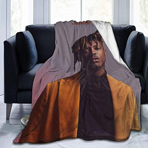 'N/A' WJOOM Juic-E Wrld Flannel Fleece Blanket Bedroom Living Room Warm Throws Blanket All Season for Sofa Bed Couch Office Camping