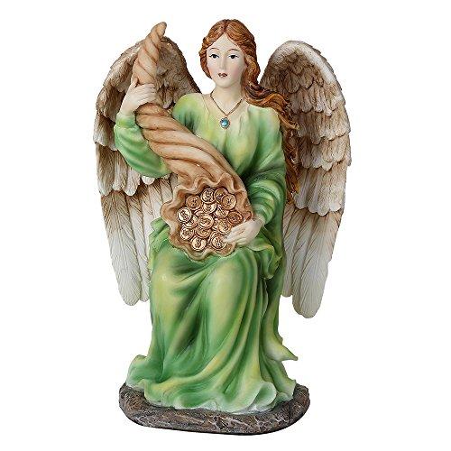 Pacific Giftware - Figura coleccionable de ángel de la abundancia prosperidad positiva energía abundia ángel de la abundancia prosperidad