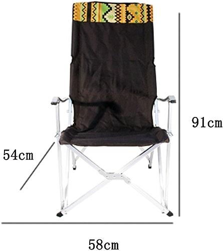 LJFYMX Chaise de pêche Camping Chaise Pliante Portable Chaise de pêche Chaise de Plage Chaise de Loisirs Chaise Pause déjeuner Chaise Chaise de Camping