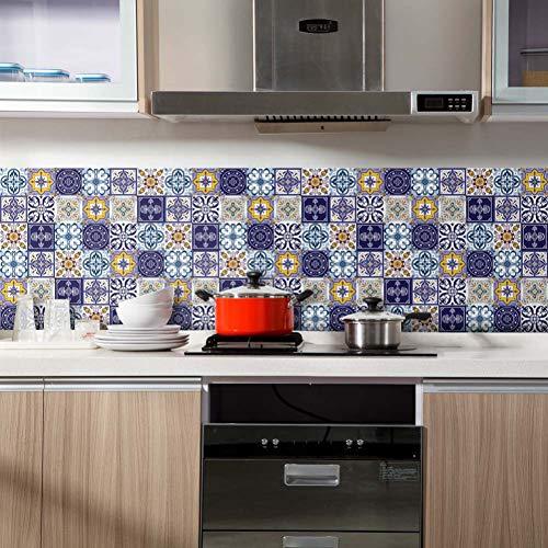 TYOLOMZ Home Tuin Gereedschap benodigdheden 60x200cm Zelfklevende Tegel Vloer Muursticker DIY Keuken Badkamer Decor