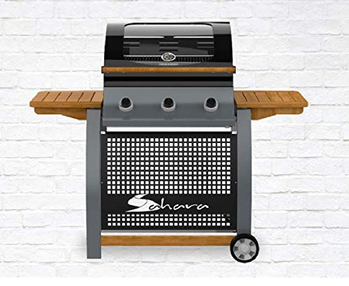 Outback Premium Cover to fit Dual Fuel 4 BBQ Combi OUT370641 202.2 x 75 x 123 cm Protective BBQ Cover WxDxH