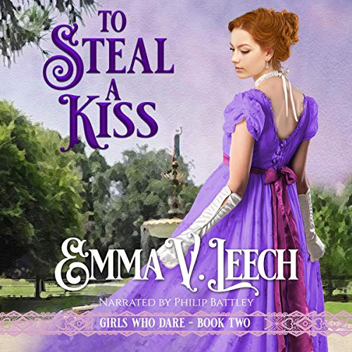 To Steal a Kiss audiobook cover art