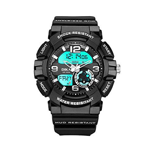 Reloj Dual Sport/Impermeable Reloj/Los Estudiantes Ver-A