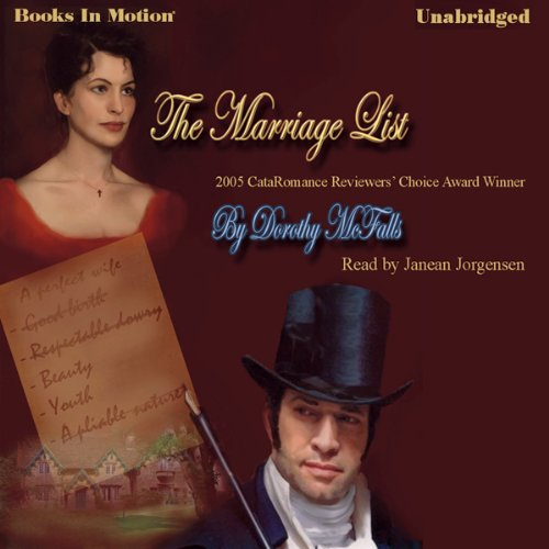 The Marriage List cover art