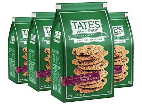 Tate's Bake Shop Thin Crispy Cookies, Oatmeal Raisin, 28 Oz