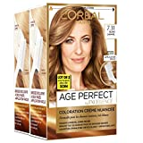 L'Oréal Paris -  Excellence Age Perfect - Coloration Permanente Cheveux Matures & Très Blancs - Nuance  7,31 Blond Caramel - Lot de 2