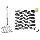 herramientas de limpieza Casada de sartén de la cadena de la espátula de la espátula de la espátula de la espátula y la cadena de la cadena de la cadena de la cadena para accesorios de la cocina Herra