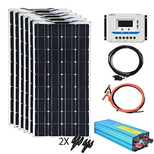 XINPUGUANG 100w 12V Flexible Solar Panels 600W 24V Solar...