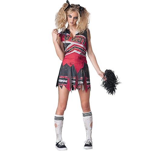 Halloween Pakjes.Cheerleader Costume Amazon Com