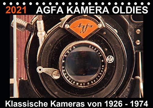 AGFA KAMERA OLDIES Klassische Kameras von 1926-1974 (Tischkalender 2021 DIN A5 quer)