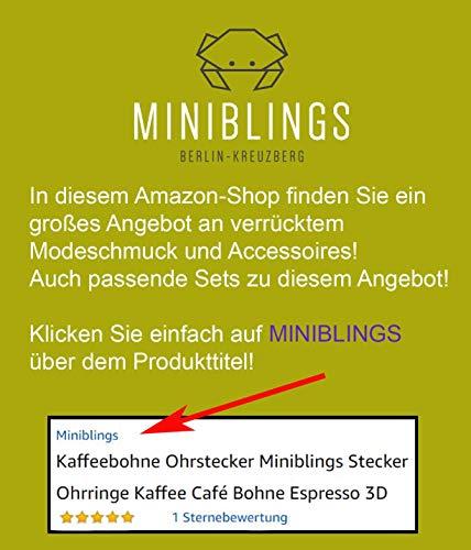 Buch Ohrringe / Ohrhänger blau - 6