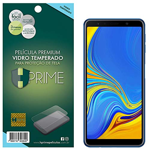 Pelicula de Vidro temperado 9h HPrime para Samsung Galaxy A7 2018, Hprime, Película Protetora de Tela para Celular, Transparente