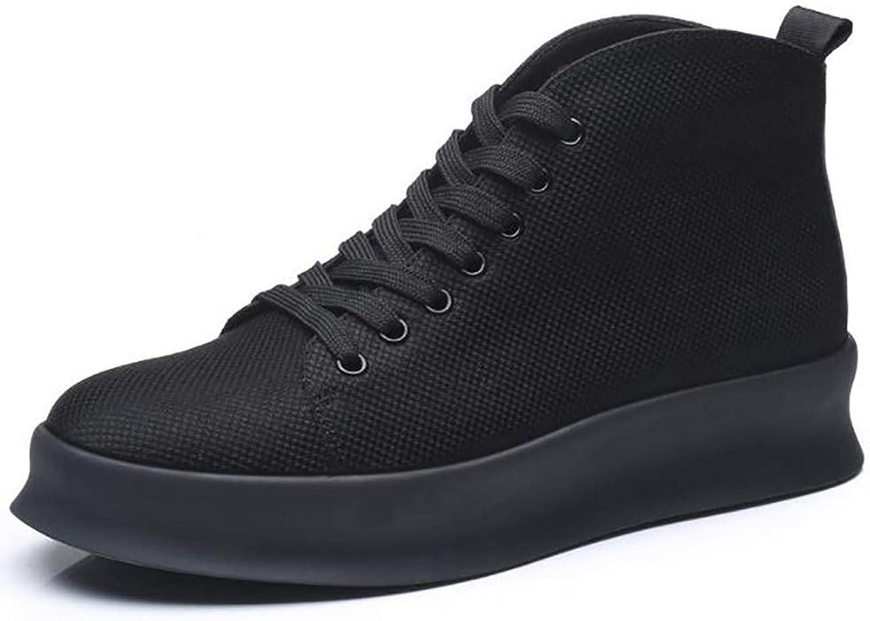 LIGYM Canvas men's shoes, lazy shoes