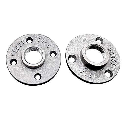 2Brida Roscada Bridas de Suelo Aleación de Aluminio Bridas 3/4