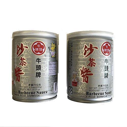 2缶セット 牛頭牌 サーチャージャン 沙茶醤 250g x 2缶