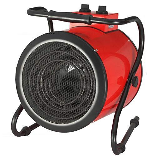 YCSD Calentador De Espacio 3KW Calentador De Ventilador De Tambor Doméstico,con 2 Configuraciones De Calor Y Configuración De Ventilador De Enfriamiento,protección contra El Sobrecalentamiento