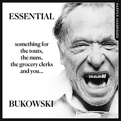 Essential Bukowski: Poetry audiobook cover art