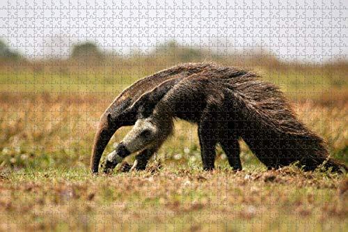 Venezuela oso hormiguero rompecabezas para adultos 1000 piezas rompecabezas de madera para adultos