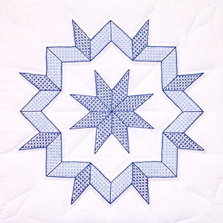 Jack Dempsey Stamped White Quilt Blocks 18