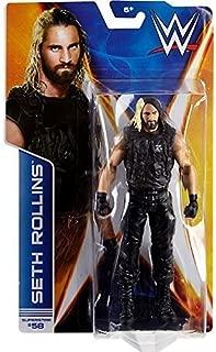 Mattel WWE Wrestling Basic Series 44 Action Figure Seth Rollins toys [parallel import goods]