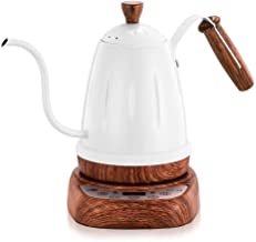 Stainless Steel Digital Electric Gooseneck Kettle Hand Drip For Coffee Specialty 700ml