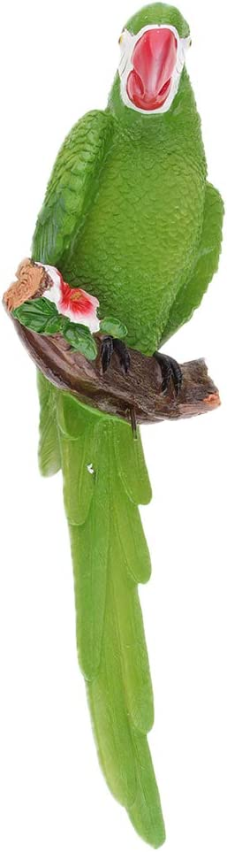 Prettyia Mail order cheap Outdoor Resin Parrot Statue Wa for Decoration Landscape Rapid rise
