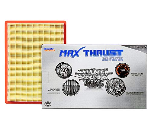 Spearhead Max Thrust Performance Engine Air Filter For All Mileage Vehicles - Increases Power & Improves Acceleration (MT-900)