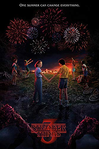 Close Up Poster Stranger Things - 3a Stagione (61cm x 91,5cm)
