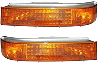Tiffin Allegro Bay 2001-2003 RV Motorhome Pair (Left & Right) Replacement Front Signal Lights