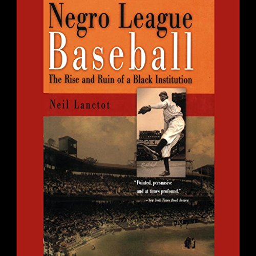 Negro League Baseball audiobook cover art