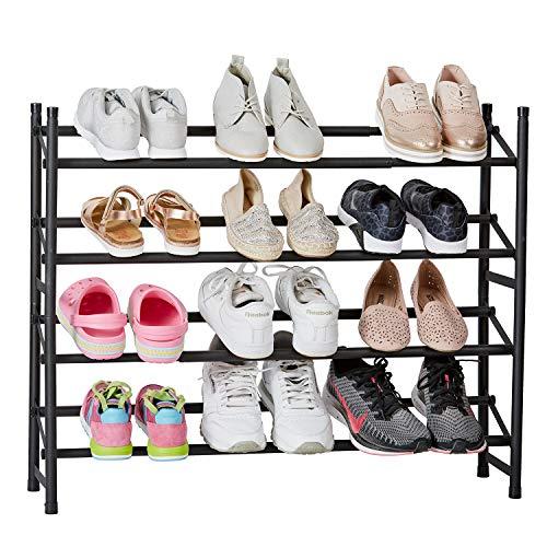 Store It 676508 Zapatero, Metal, Negro, 68x23x62-116 (HxTxB)