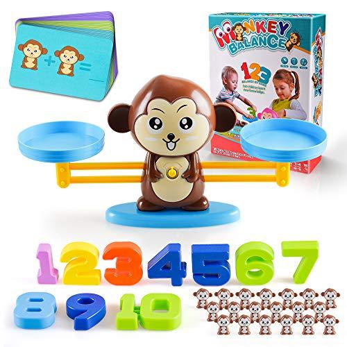 Lernspielzeug für 3-6-jährige Kleinkinder Kinder, Vorschule Lernspielzeug Geburtstagsgeschenke für Mädchen...
