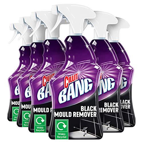 Cillit Bang - Juego de 6 moldes para desmoldar (750 ml), color negro