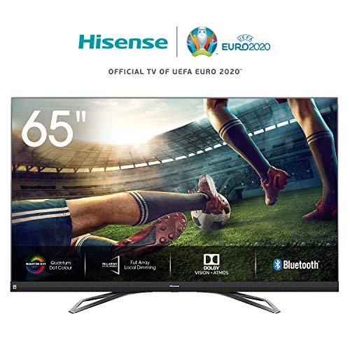 Hisense 65U8QF 164cm (65 Zoll) Fernseher (4K Ultra Premium HD,QuantumDot, HDR10+, Dolby Vision&Atmos, WCG, Full Array Local Dimming, 120Hz Panel, USB-Recording, JBL sound) [Modelljahr 2020]
