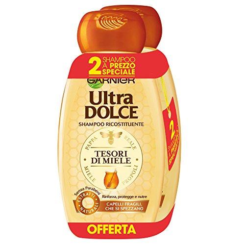 Garnier - Ultra schattige shampoo 300 ml [3 X 2-pack] gelei royale en honing propolis