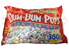 Dum Dum Pops 360 COUNT, 61 OZ BAG